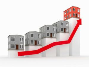 increase in Real estate prices in BC